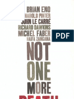John Le Carre, Richard Dawkins, Brian Eno, Michel Faber, Harold Pinter-Not One More Death-Verso (2006)