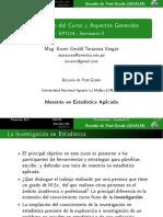 EP7124 SeminarioII Intro 0913 Presentacion Del Curso