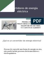 Convertidores de Energía Eléctrica