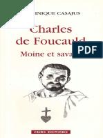Charles de Foucaud Moine Et Savant Charl