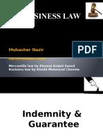 Indemnity & Gauranttee