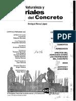 Concrete Materials Naturaleza y Materiales Del Concreto
