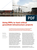 Using PPPs to Fund Critical Greenfield Infrastructure Projects