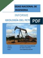1ER INFORME GEOLOGIA DEL PETROLEO