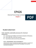 Chapter 1a - Introduction to Process and Sustainable Design