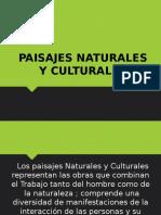 Paisaje Natural y Cultural