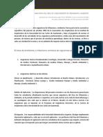 Reglamento FARUSAC Normativo Asignaturas Urbanismo y Ambiente