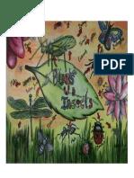 bugs sketchbook page