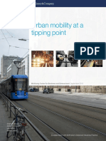 Urban Mobility at Tipping Point Final