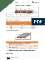 Losas Aligeradas - Estructuras y Cargas