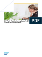 SAP Fiori - Troubleshooting Guide for SAP S_4HANA Finance%2c on-Premise Edition