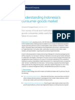 Understanding Indonesia Consumer Goods Markets