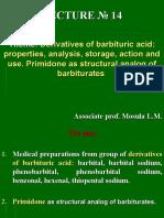 Deriv. of Barbituric Acid. Primidone-2