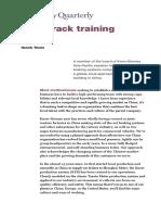 Twin Track Training