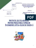 Model Protocol de Colaborare in Situatii de Urgenta 2014