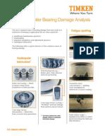 Papped Roler Bearing Analysis