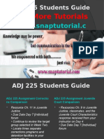 ADJ 225 Apprentice tutors/snaptutorial