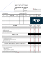 Drilling Inspection Form 3160-10