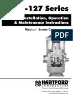 Dunham-Bush MSC 127 Installation & Operation Manual Álló