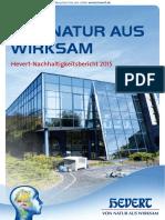 Hevert-Nachhaltigkeitsbericht 2015