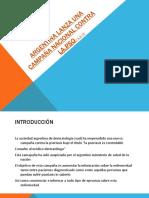 Argentina lanza una campaña nacional contra la pso