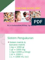 Perhitungan Dan Dosis Obat