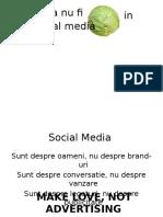 Cum Sa Nu Fii Varza in Social Media Seminar 2