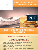XCOM 200 TUTORIALS Real Education - Xcom200tutorials.com