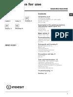 Programe Indesit Pg 30