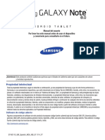 GEN GT-N5110 Galaxy Note8 JB Spanish User Manual MCA F7