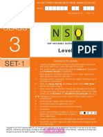 Nso Level2 Class 3 Set 1
