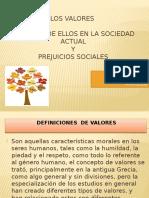 los valores y prejuicios sociales
