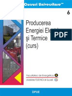 Producere energiei electrice si termice curs UPB