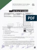 Acta 03/2016 Comité Seguridad y Salud Laboral Tragsa UT 2 CV