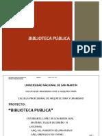 Memoria Biblioteca