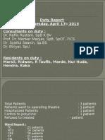Duty Report HM 17-4-13Rev