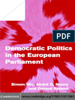 Democratic Politics in the EP