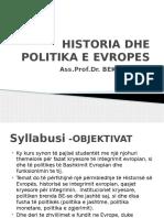 Historia Dhe Politika e Evropes-ligj 1