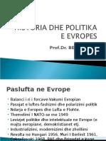 Historia Dhe Politika e Evropes-ligj 2