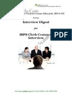 IBPS Clerk Int guide