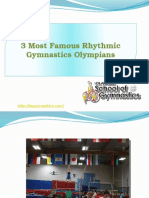 3 Most Famous Rhythmic Gymnastics Olympians