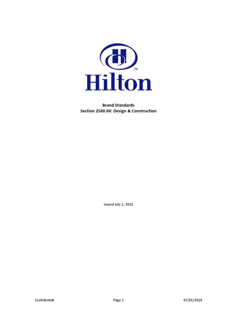 hilton design construction standards july 2010 tile lighting rh scribd com Foundation Construction and Design Manual Masonry Design
