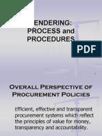 Tendering -Process and Procedures