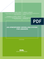 AN ATMOSPHERIC MODELLING SYSTEM FOR LEBANON