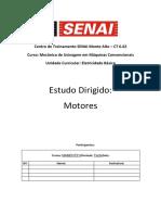 Trabalho de Elétrica _Motores_- Curso Senai