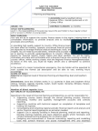 Finance Analyst Job Description