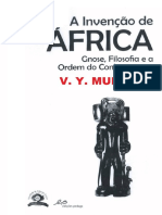 MUDIMBE, V.Y. A invenção de África.PDF