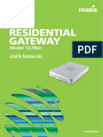 MAXIS Fibre Broadband Ftth Residential Wifi Modem Guide