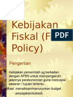 5b.Kebijakan Fiskal