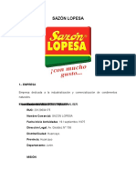 Sazon Lopesa